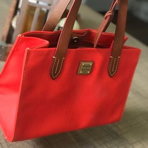 Orange & Tan  Dooney & Bourke Tote